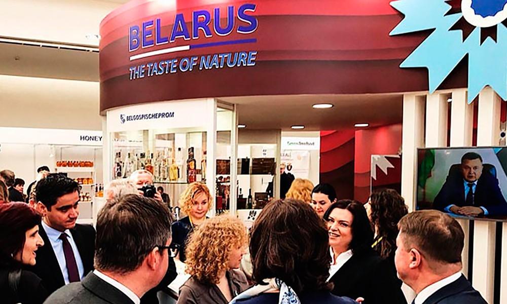 Белорусские продукты на выставке Salima в Чехии