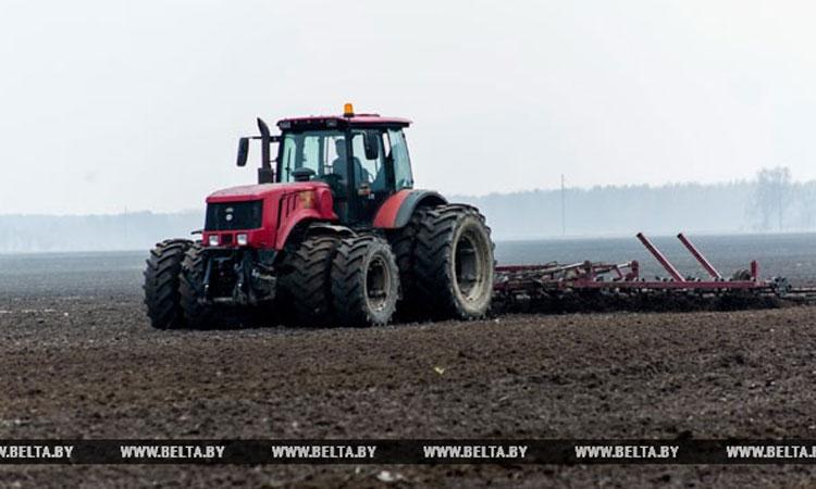 Посевная в Минской области 2018