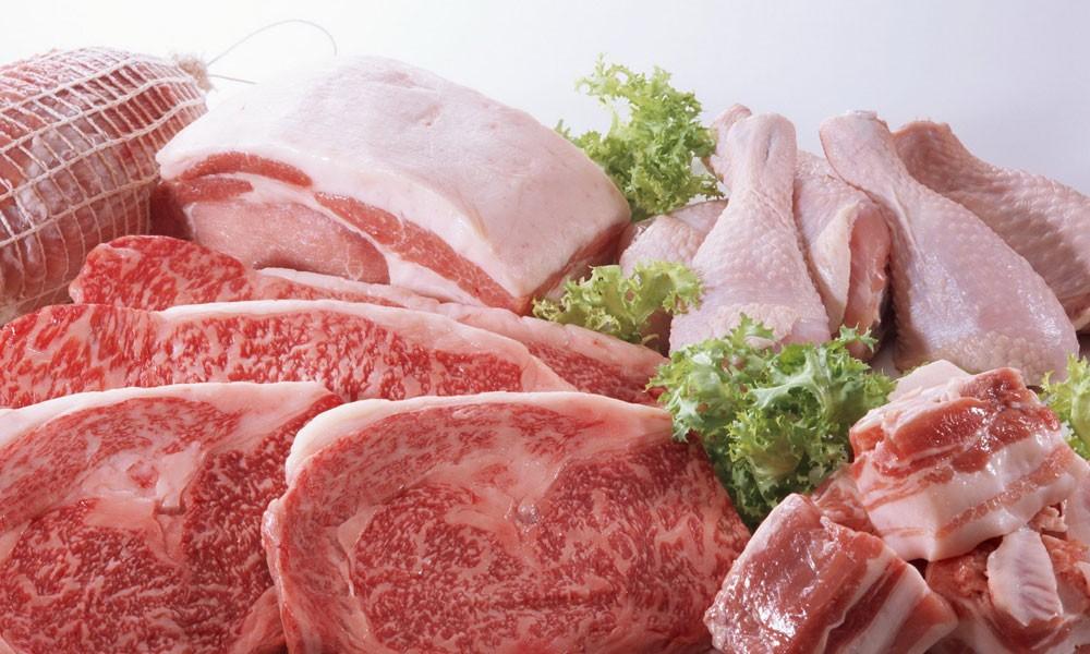 Мясо птицы и свинина